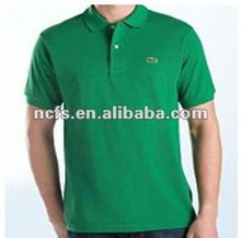 2012 hot sell mens 100%cotton polo t shirts with logo embroider