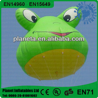 Big Flying Inflatable Advertising Cartoon Helium Balloon