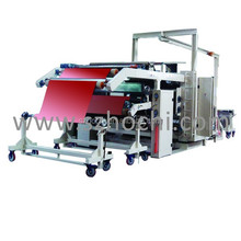 Laminating Fabric with Films Automatic PUR Hot Melt Glue Laminating Machine