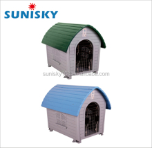 Wholesale high quality cheap plastic pet house popular small commercial dog house dog cage
