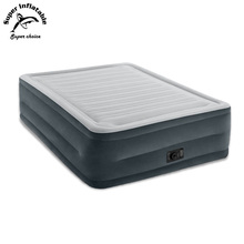 Wholesale Prices Comfort Plush Dura-Beam Elevated Self Inflating Queen Airbed Inflatable Mattress Mat