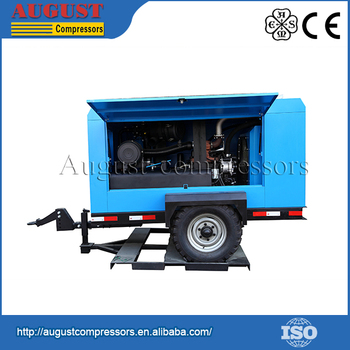 Hot Selling 2015 lubricated portable water lubricating screw air compressor