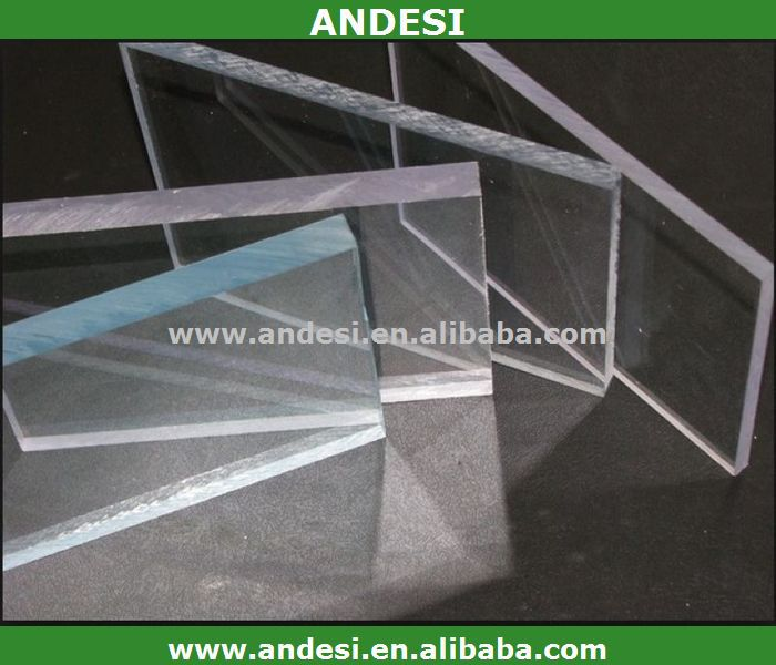 clear hard pc panel carport roofing material polycarbonate sheet