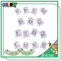 Hot Selling Kawaii Blink Self Adhesive Tattoo Stickers Gold Silver Jewel For Kids