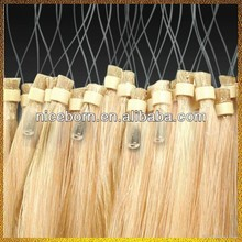 Wholesale malaysian hair micro ring loop hair extension