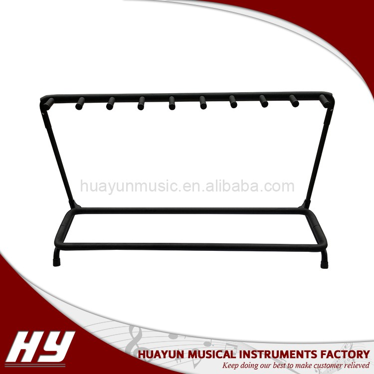 Wholesale instrument accessories multi guitar stand for sale