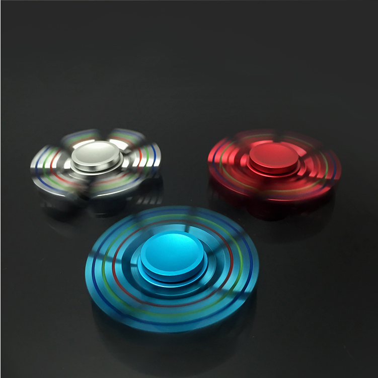 Stainless Steel Combination Metal Six Arms Fidget Hand Spinner Anti Stress