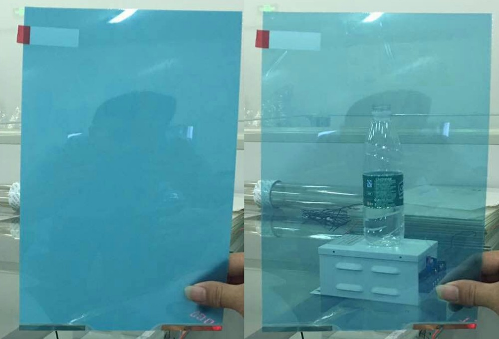 switchable smart glass for office partition