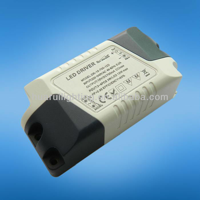 12W 700mA Mini dimmable led driver