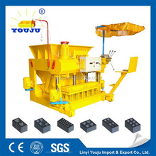 egg laying gabon presses egg layinglogical bricks mold QMY6-25 Youju machinery group