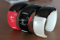 EF-1 Bluetooth Bracelet wrist band Smart Wristwatch Phones caller ID display/anti-lose/answer/hang up call/music player
