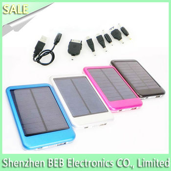 Genuine solar mobile charger with excellent charging functions