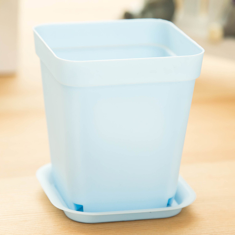 j393 decorative garden cheap plastic flower pots home. Black Bedroom Furniture Sets. Home Design Ideas