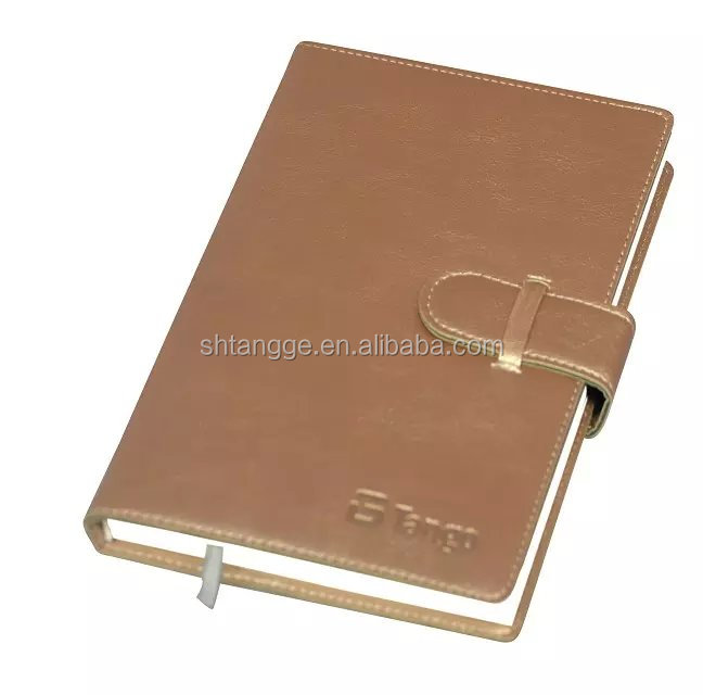 Notebook Leather Bound Office And School