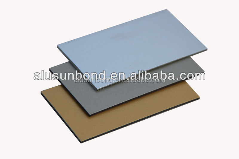 2mm3mm hot sale Silver White alucobond aluminum compsite price