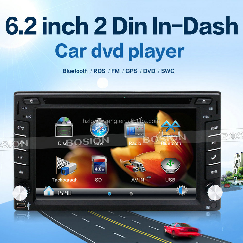 Car Audio Fiat Stilo Car Radio Player GPS Navigation with Phone Book and Rear Camera Input