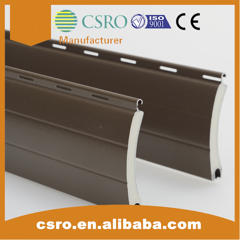 45mm insulated aluminum shutters exterior window profile