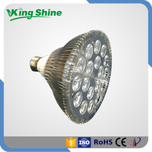 Low power consumption 12W par 38 led grow light (660nm:460nm) for indoor plants 50000 hours long lifespan
