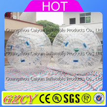 Excellent quality clear human inflatable hamster ball zorb ball for fun