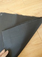 0.12mm Thickness Black Colored Fiberglass Cloth For Europe
