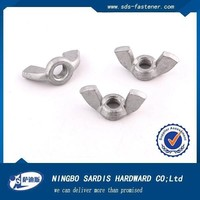 China manufacturer&supplier&factory dimensions wing nut