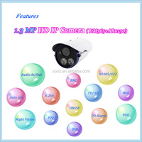 With AAC Compression, Support Two-way voice speaking 2015 best-selling CCTV wquipments hd video camera