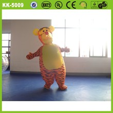 Beautiful cheap durable high quality inflatable tiger cartoon advertising