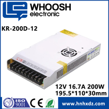 high quality 200W 12V switch mode power supply
