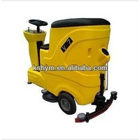 V7 ride-on Automatic traction drive high effcient hotel floor cleaning equipment