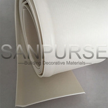 cheap Accept Customized PVC skirting board plastic baseboard