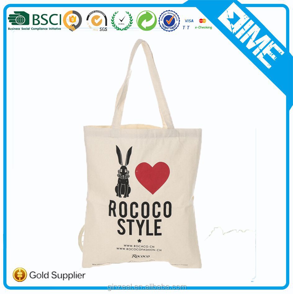 New Design Cheap Colorful Printing Cotton Tote Bags Handbags for Girls