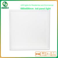 2x2 Drop Ceiling 40W 60W 60x60 36W LED Panel Light 600x600