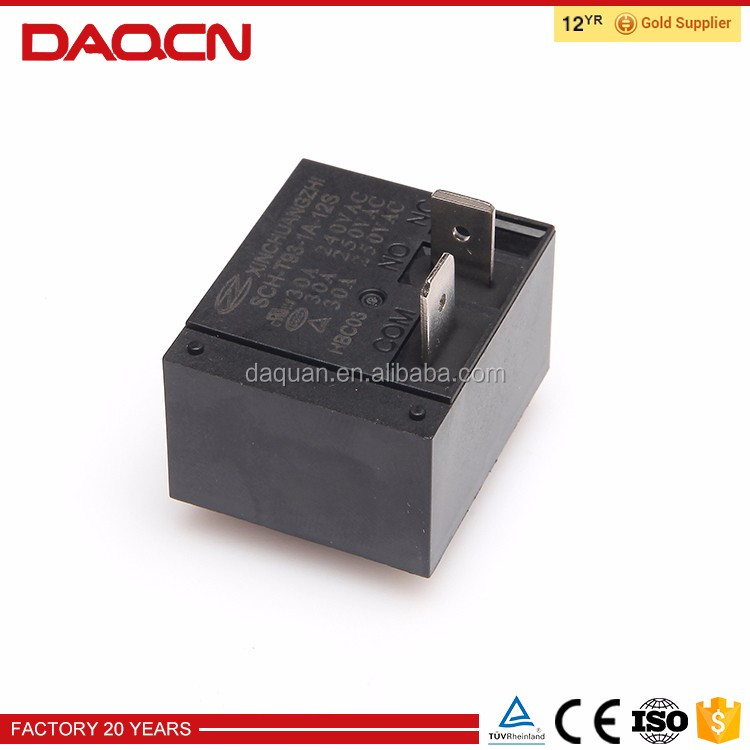 DAQCN 30A carrying current 12v pcb relays