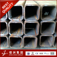 oil paint st37 mild steel black welded square & rectangular steel pipe / ERW hollow section