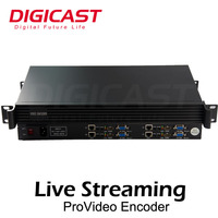 (DMB-8904 Classic) RTSP/RTMP h 265 streaming iptv encoder ip camera hd usb network encoder support wowza,Xtream codes, Youtube