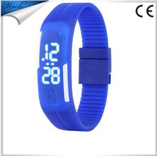 NEW Fashion white LED Women Bracelet SportWatch BIG Light Plastic Wristwatch Korean Style LMW-6