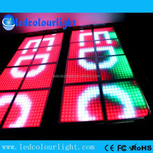 Color changing nightclub ceiling 300X300mm DMX RGB LED panel light