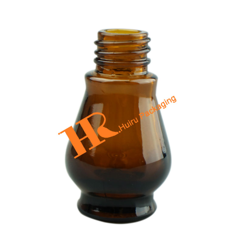 Amber Medical Bottle Pharmaceutical bottle empty glass bottle