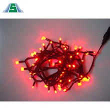 Finely processed christmas wall decoration with outdoor led cube light chain