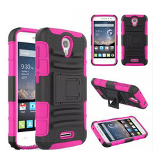 for alcatel astro kickstand case, 3 in 1 supper robot hybrid combo stand cover case for alcatel one touch pop astro