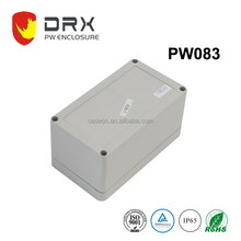 IOS9001 Customized Grey IP65 Waterproof Plastic Electronic enclosure for PCB project