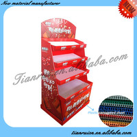 Widely Used Hot Sales Strong Structure Cardboard Display Shelf