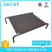 Custom logo waterproof chewproof Elevated Cot Style iron pet dog beds