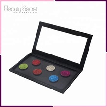Private label makeup empty magnetic eye shadow palette fit 36mm 26mm single eyeshdow