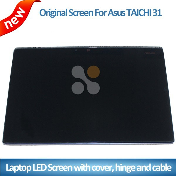 "New For ASUS TAICHI 31 LCD Assembly with cover and hinge laptop 13.3"" lcd screen display"
