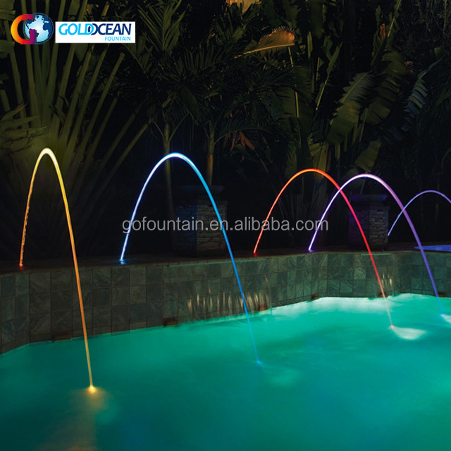 Swimming Pool Led Laminar Water Jet Fountain - Buy Swimming Pool  Fountain,Laminar Water Jet Fountain,Jumping Jets Water Fountain Product on  ...