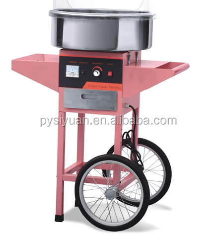 2015 electric commercial Handy cotton candy maker for sale made in china