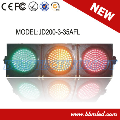 8inch led module traffic signal with fresnel lens