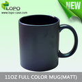 New printable 11OZ Matt finish Full Color mug for Sublimation