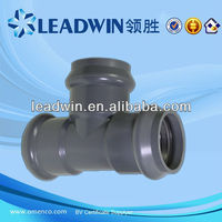 pvc 3 way elbow pipe fittings for water supply
